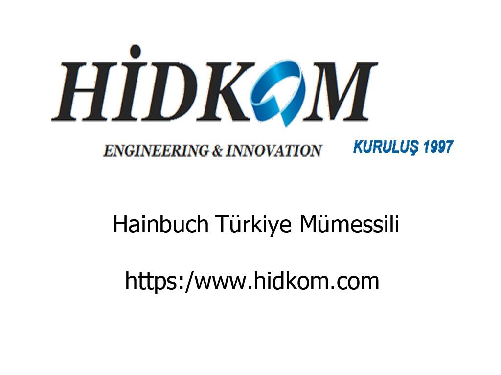 Hainbuch Türkiye Temsilcisi Satışı Ofisi Bayisi